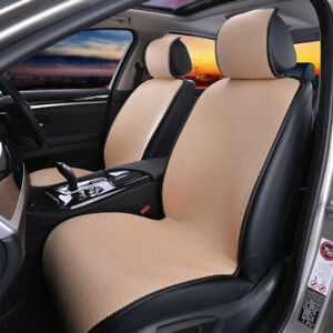 2pc Car Van Front Seat Cover Cooling Sponge Mesh Cushion Mat Universal Protector
