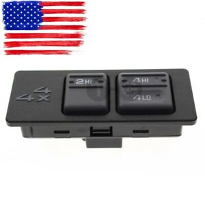Transfer Case Selector Switch 4wd 4x4 For Gmc Chevy C K Series