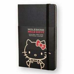 Moleskine Ruled Lg Bk Hello Kitty Limited Notebook Edition Hard Lehk01qp060
