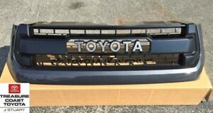New Oem Toyota Tundra 2014 2017 Trd Pro Grille Magnetic Gray 1g3