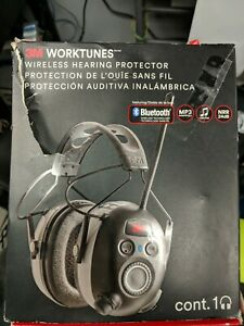 3m 90542 3dc Worktunes Black Wireless Hearing Protector Bluetooth