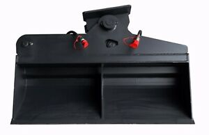 50 Hydraulic Ditching Grading Bucket For New Holland 5 6 Ton Mini Excavators