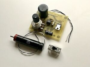 Maxon Gearhead Motor 12 Vdc With Customized Speed Controller Diy Kit