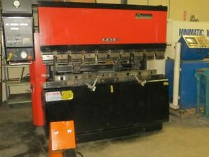 Used Amada Hydraulic Press Brake 55 Ton X 82 Model Fbd 5020e