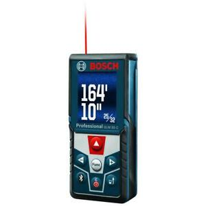 Bosch 165 Ft Laser Measure With Bluetooth And Full colour Display
