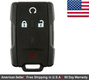1 New Replacement Keyless Key Fob Remote For Chevy Gmc M3n 32337100 22881480