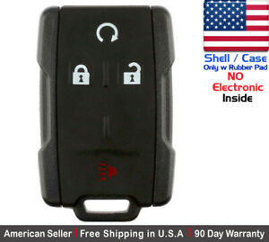 1 New Replacement Keyless Key Fob Remote For Chevy Gmc Shell Case Only