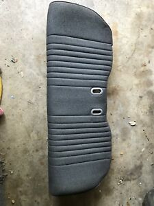 1987 1990 Mustang Lx Gt Cloth Rear Back Seat Lower Bottom Cushion