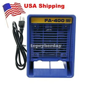 Fa 400 Soldering Iron Smoke Absorber Fume Extractor free 12 Filter Kit 13w Us