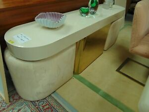Milo Baughman Thayer Coggin Sofa Table With 2 Stools Mid Century Modern