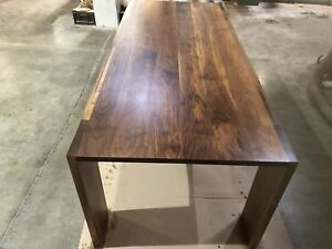 Solid Walnut Dinning Table 3 X 7 Ft