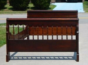 19th Century Low Bed Mahogany