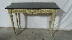 Karges Faux Finish Beautiful Console Sofa Table French