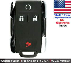 1x New Replacement Keyless Key Fob Remote For Chevy Gmc M3n 32337100 Shell Only