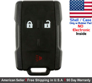1 New Replacement Keyless Key Fob Remote For Chevy Gmc Shell Case Only 13577771