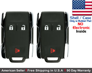 2x New Replacement Keyless Key Fob Remote For Chevy Gmc Shell Case Only 135