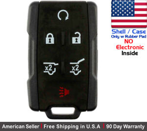 1 New Replacement Keyless Key Fob Remote For Chevy Gmc Gm 13577766 Shell Only