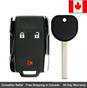 1x New Replacement Keyless Key Fob Remote For Chevy Gmc Gm M3n 32337100