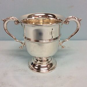 Sterling Silver Two Handled Loving Cup By Black Starr Gorham 4 5