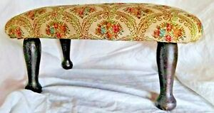 Antique Foot Stool Cushion