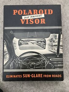 Vintage Nos Poloroid Sunvisor Nos Gm Accessories Chevy Bomb 1940 1950