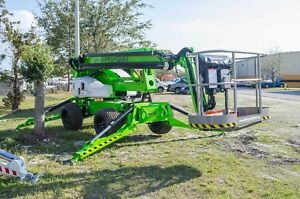 Nifty Sd64 70 Ft Boom Lift 4wd 4w Steer crab Steer turf Tires 8700 Lbs new 2020