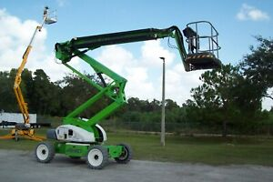 Nifty Sd64 70 Ft Boom Lift 4wd 8700 Lbs 2019s memorial Day Special 95 000
