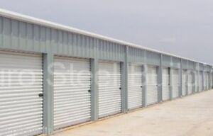 Duro Steel Mini Self Storage 30x90x8 5 Metal Prefab Building Structures Direct
