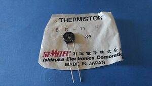 Semitec Thermistor 5d 11 Rp 5 Ohm 4 Amp Qty 90 Usa Seller Free Shipping Japan