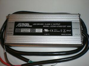 New Autec Power Systems 60w Constant Current Led Driver Ledwv 076s012st