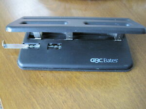 Gbc Bates Hummer 231 Manual 3 Hole Punch Commercial Heavy Duty