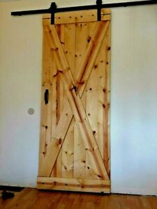 The Barn Door Plus 6 6ft Sliding Hardware Kit Rustic Antique Vintage Farmhouse