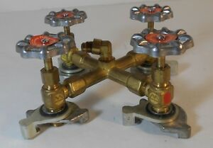 Robinair Manufacturing 4 Way A c Multi Can Manifold Valve Kent more Tool
