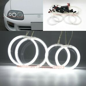 Ccfl Light Halo Rings For Toyota Supra 1993 2002 Car Headlight Angel Eye Lamp