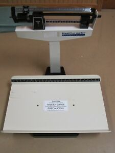 Health O Meter Pelstar Model 1522kl Mechanical Pediatric Balance Beam Scale