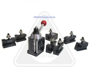 Bostar Bxa Wedge Tool Post For Lathe 10 15 plus 2 Extra Xl Oversize Tool Holders