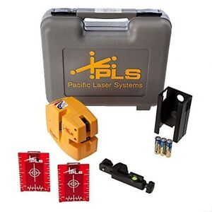 Pacific Laser Systems Pls480 Red Laser Level Alignment System Pls 60611