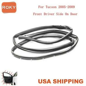 Door Opening Weatherstrip Seal Quality Front Left For Hyundai Tucson 2005 2009