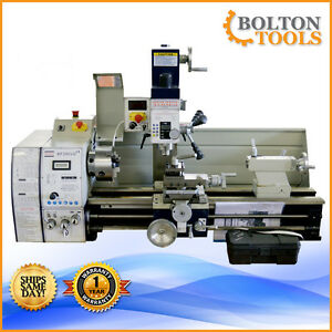 New Bolton Tools Bp290vg Lathe 11 X 28 Combo Gear Head Metal Free Shipping