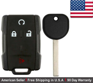 1x New Replacement Keyless Key Fob Remote For Chevy Gmc Gm M3n 32337100 B116 Pt