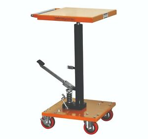 Bolton Tools 220 Lb Center Post Hydraulic Lift Table Cart Pt 02 1616