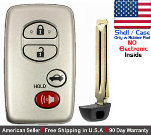 1 New Replacement Keyless Key Fob For Toyota Proximity Remote Shell Case Only