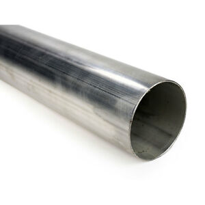 Squirrelly 2 304 Stainless Steel Straight Pipe Tubing 16 Gauge Exhaust 3 Feet