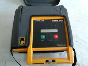 Medtronic Physio control Lifepak 500t Aed Training System With Case And Remote
