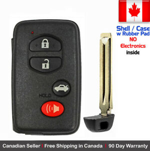 1 New Replacement Keyless Keyfob For Toyota Proximity Remote Shell Case Only