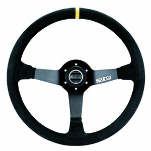 Sparco Racing Steering Wheel R 368 Suede Black 380mm
