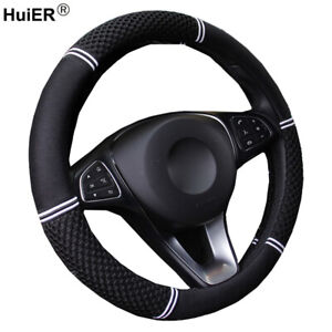 6 Colors Car Steering Wheel Cover Fashion Sports Non Slip 38cm Auto Car Styling