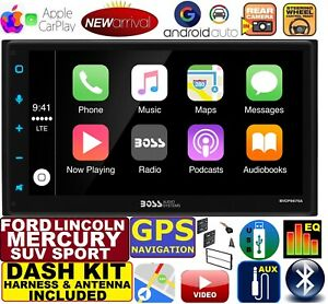 Ford Lincoln Mercury Navigation System Apple Carplay Android Auto Car Stereo