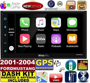 01 02 03 04 Ford Mustang Gps Navigation Stereo Apple Carplay Android Auto