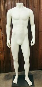 Male Mannequin Fusion Specialties With Base Full Body No Head